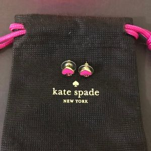 Kate spade ♠️ earrings very pretty pink 💕